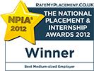 [2012] Best Medium-sized Employer