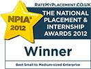 [2012] Best Small to Medium-sized Enterprise