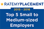[2015] RateMyPlacement Top 5