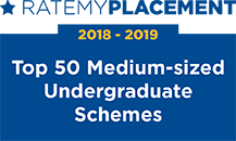 [2018] RateMyPlacement Top 50