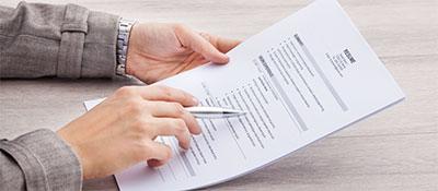 CV for Internships